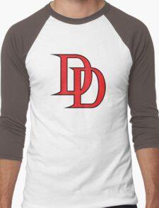 Daredevil Logo Men's Baseball ¾ T-Shirt