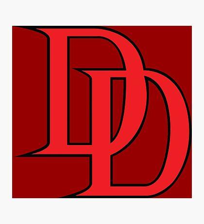 Daredevil Logo Photographic Print