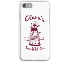 Clara's Impossible Soufflé Company (Red) iPhone Case/Skin