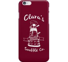 Clara's Impossible Soufflé Company (White) iPhone Case/Skin