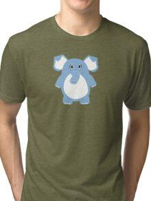 Cute Elephant Tri-blend T-Shirt