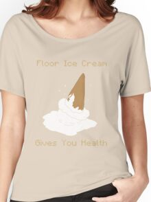 Floor Ice Cream Gives You Health - Kid Icarus Women's Relaxed Fit T-Shirt