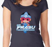 Cute Prabu Women's Fitted Scoop T-Shirt