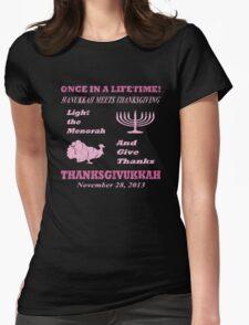 Classic Pink Thanksgivukkah - Hanukkah meets Thanksgiving T-Shirt