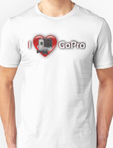 I HEART GOPRO (Red) T-Shirt