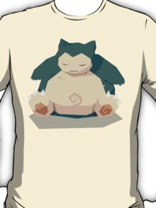 Cutout Snorlax T-Shirt