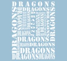"""Dragons Dragons"" T-Shirt by thisisbrooke"