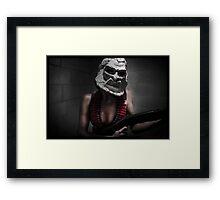Zardoz Cosplay Framed Print