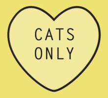 Cats Only Kids Clothes