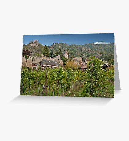 Durnstein Vineyard Greeting Card