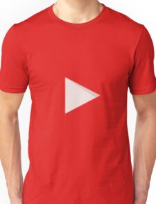 YOUTUBE LOGO Unisex T-Shirt