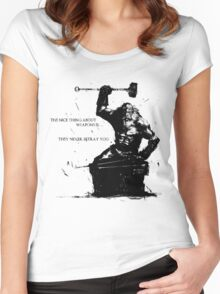 Andre of Astora Women's Fitted Scoop T-Shirt