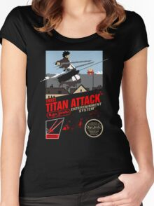 Trost Titan Attack Women's Fitted Scoop T-Shirt