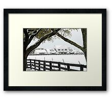 "Southfork Ranch Home of ""Dallas"" - TV Mini-Series Framed Print"