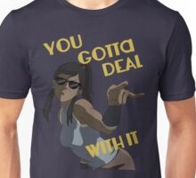 LoK - Korra Deal With It Unisex T-Shirt