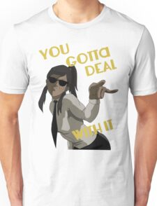 LoK - Korra Deal With It (Suit Version) Unisex T-Shirt