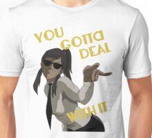 LoK - Korra Deal With It (Suit Version) Unisex T-Shirt