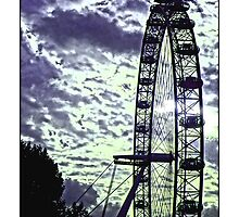 London Eye by Tim Constable