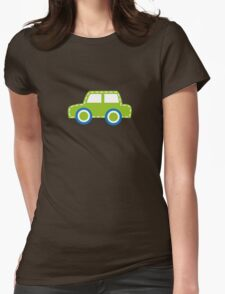 Toy Car Womens Fitted T-Shirt