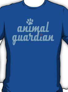 animal guardian - animal cruelty, vegan, activist, abuse T-Shirt