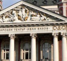 The National Theatre - Sofia Sticker