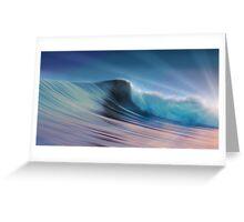 Silky Surf Greeting Card