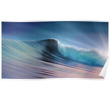 Silky Surf Poster