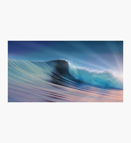 Silky Surf Photographic Print