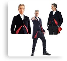 Doctor who- 12th Doctor  Canvas Print