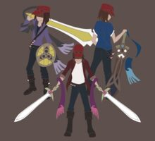 Honedge, Doublade, Aegislash by ecchinx