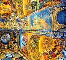 Church of Our Savior on the Spilled Blood, St Petersburg by Wendy  Rauw
