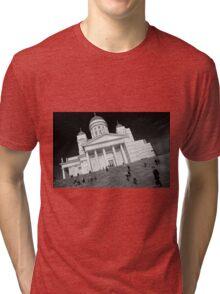 Helsinki Cathedral  Tri-blend T-Shirt
