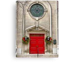 Decorated for the Holidays Canvas Print