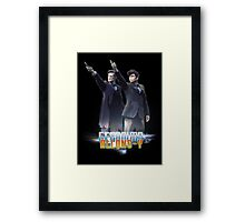 Alons-Y and Geronimo!  Framed Print