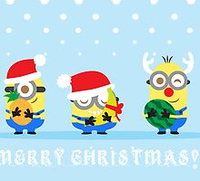 Minion Christmas by DisfiguredStick