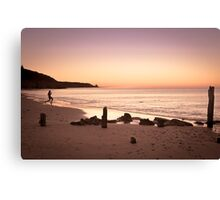 Skimming Stones Canvas Print