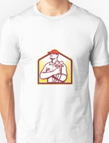 Heating and Cooling Refrigeration Technician Retro T-Shirt