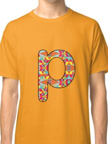 Letter Series - p Classic T-Shirt