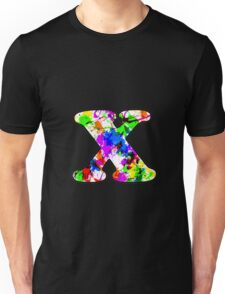 Letter Series - x Unisex T-Shirt