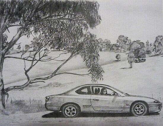 Sports car by David Fraser