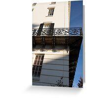Washington, DC Facades - White House Neighborhood Greeting Card