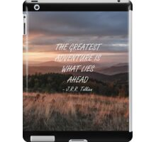 The greatest adventure 4 iPad Case/Skin