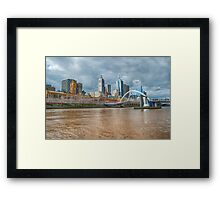 Muddy River Framed Print