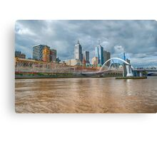 Muddy River Canvas Print