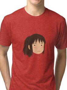 Spirited Away Chihiro Tri-blend T-Shirt