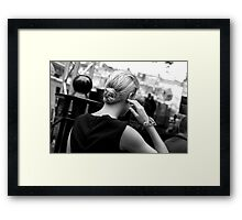 One Frame Later Framed Print