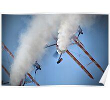 Smoking Pass - Wingwalking - Shoreham 2013 Poster