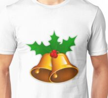 Bells with Holly 2 Unisex T-Shirt