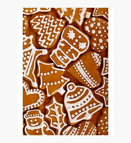 Gingerbread Cookies Photographic Print