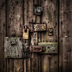 Locked Door by Art Hakker Photography